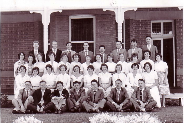 Bible College 1961 students
